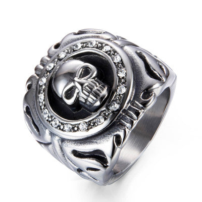 Uniquely Design Skull BrapWrap Ring for Bikers - Limited Edition