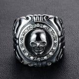 Uniquely Design Skull BrapWrap Ring for Bikers