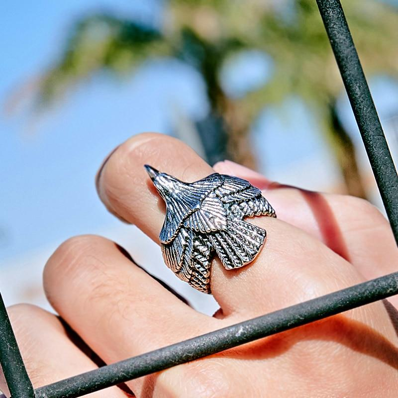 Eagle Biker Ring - BrapWrap