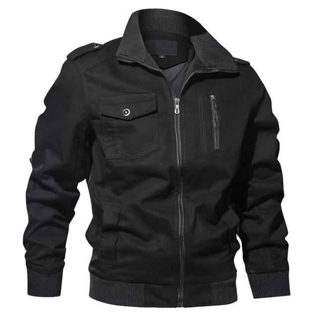 Casual Cotton Zipper Jacket