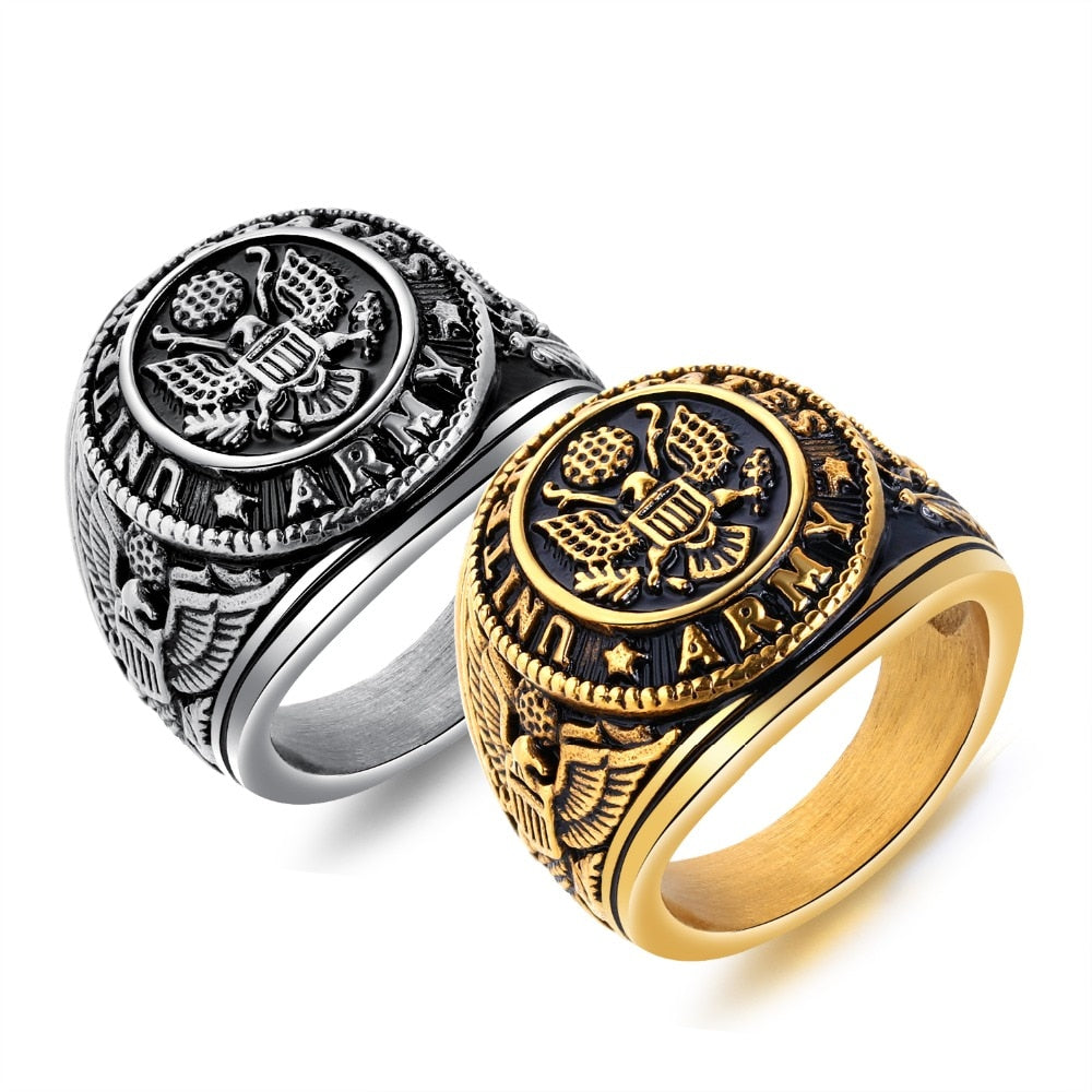 US Army Eagle Ring