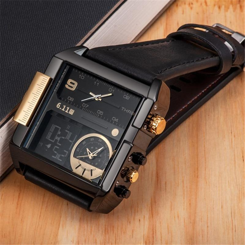 Dual Time Zone Big Size Watch