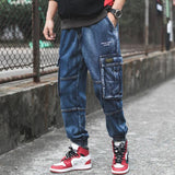 Multi Pockets Cargo Style Jeans
