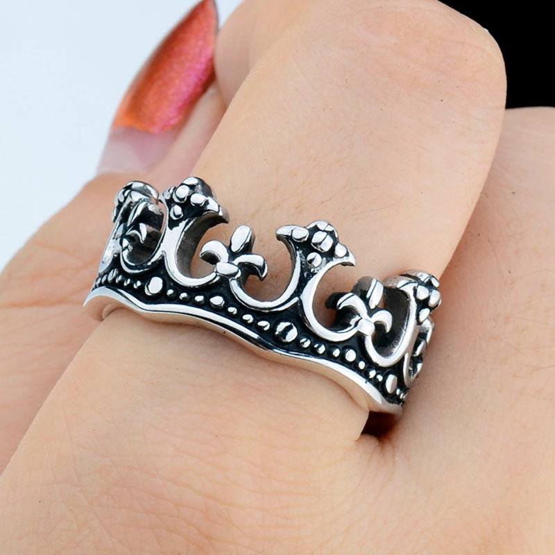 Royal King Crown Ring