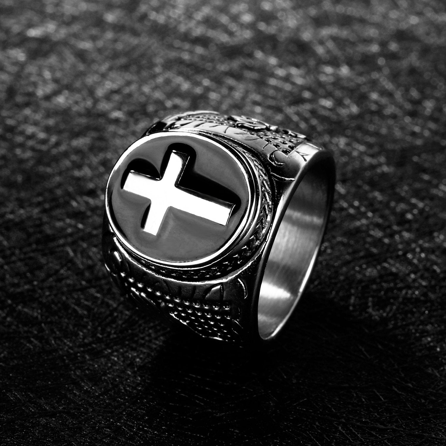Jesus Cross Unique Ring