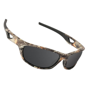Polarized Sunglasses with Camo Frame