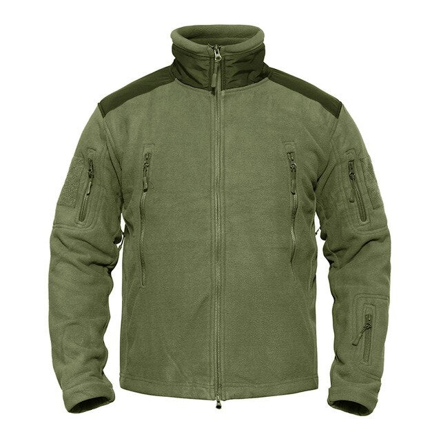 Winter Warm Army Fleece Multi Pocket Tactical Jacket