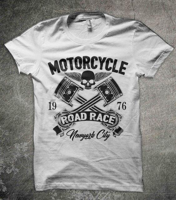 Motorcycle Road Race T Shirt