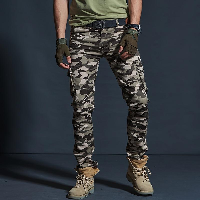 Military Style Joggers