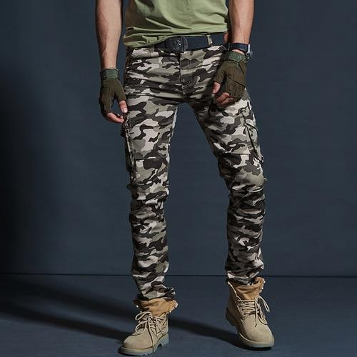 Military Style Joggers - BrapWrap
