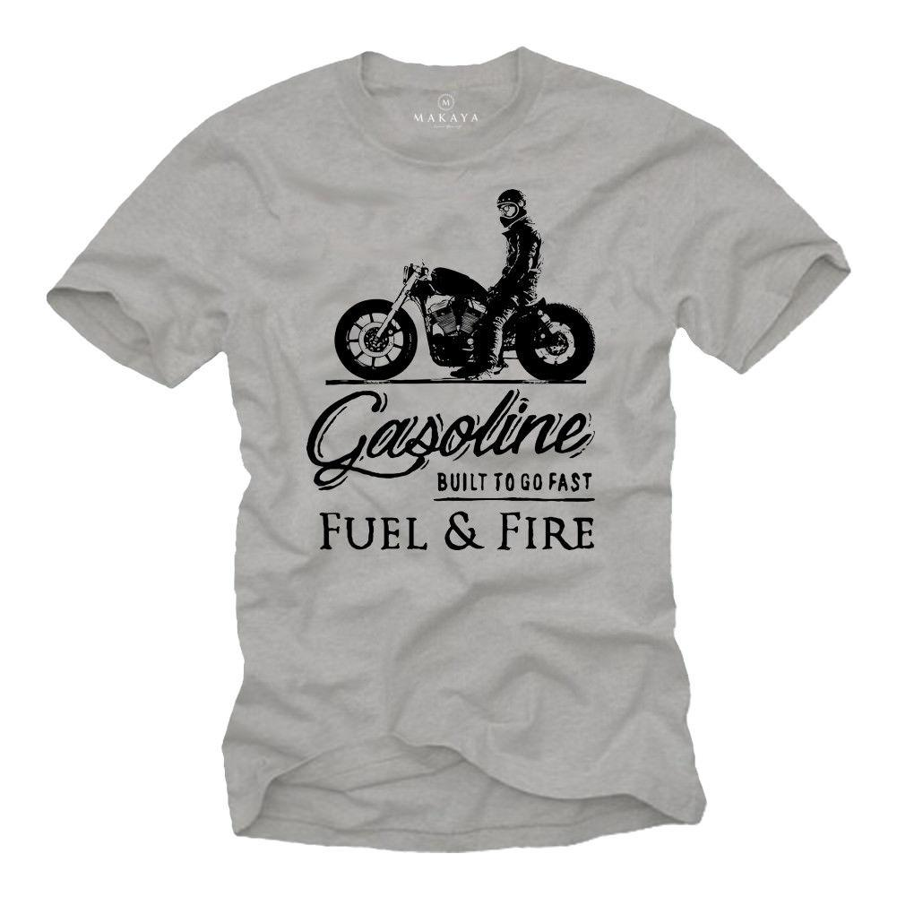Gasoline Fuel & Fire T Shirt