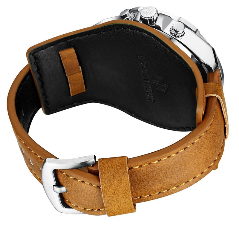 Leather Strap Watch for Rider - BrapWrap
