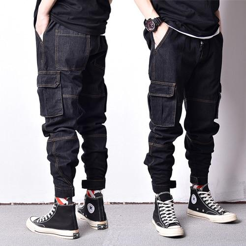 Japanese Style Vintage Design Men Jeans
