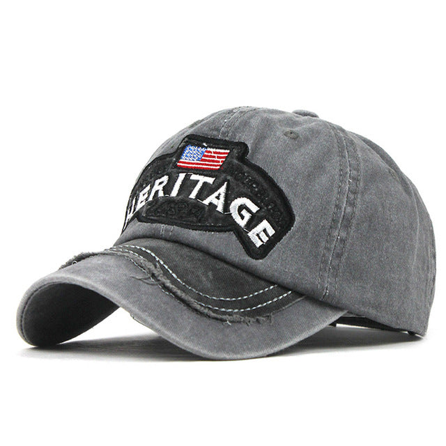 USA Heritage Washed Denim Hat