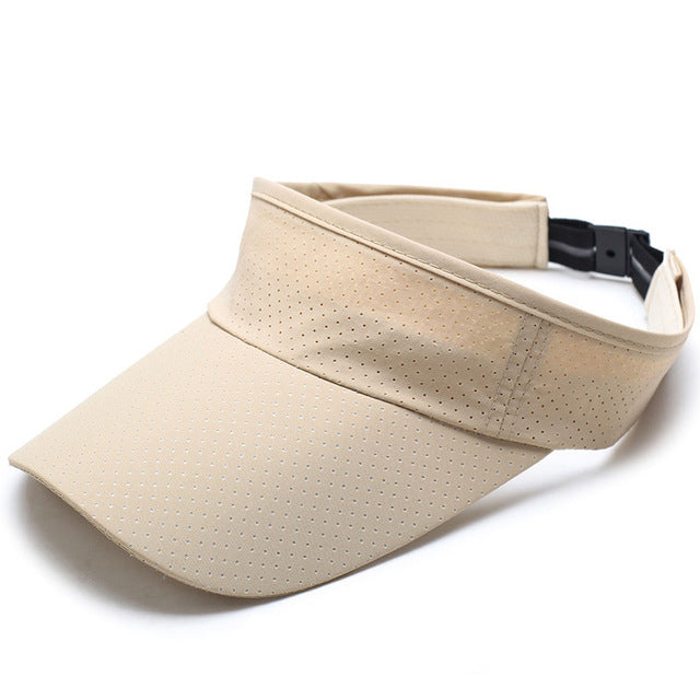 Sun Hat Quick Drying Solid Snapback Cap