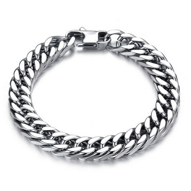 Titanium Steel Men Bracelets