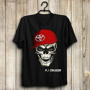 Red Hat Skull T Shirt