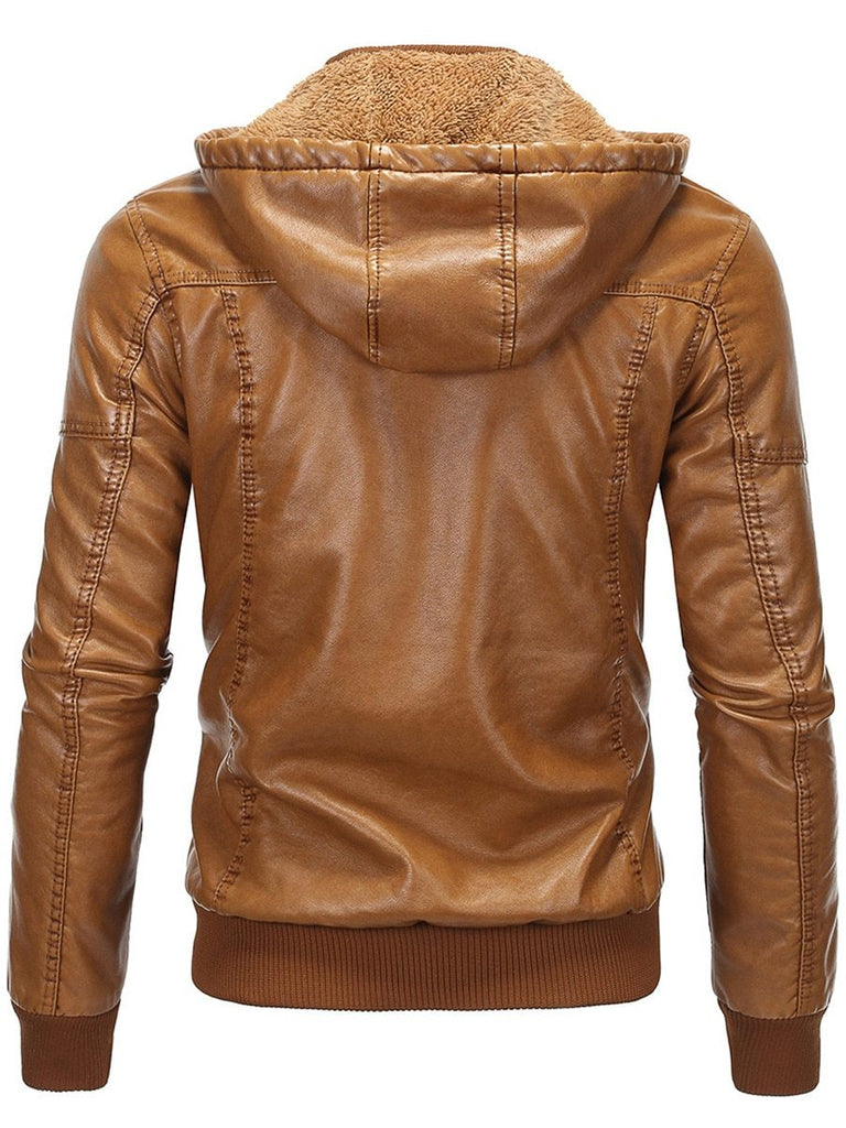 Faux Leather Jacket for Riders
