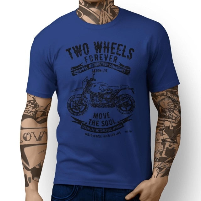 Two Wheels Forever T Shirt