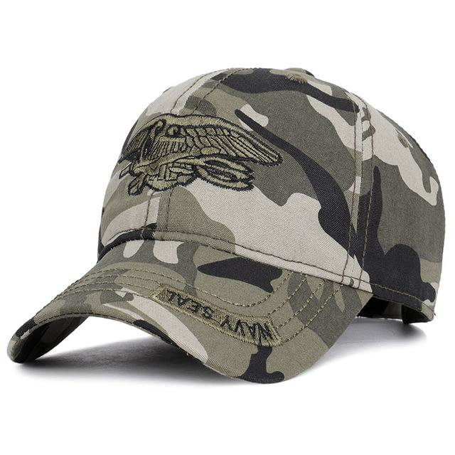 Military Eagle Embroidery Cap