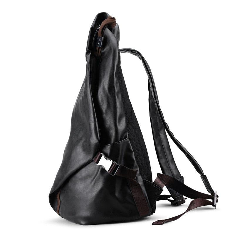Leather Cafe Racer Riding Bag - BrapWrap