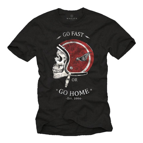 Go Fast or Go Home T Shirt - BrapWrap