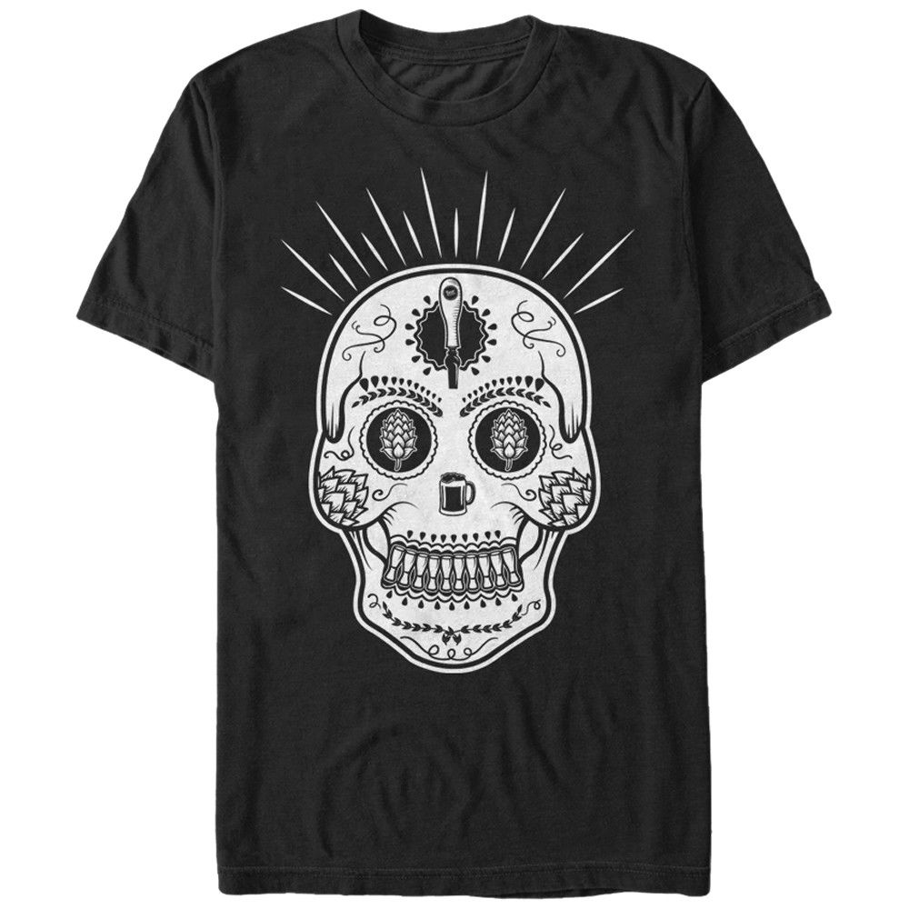 Sugar Skull Graphic T Shirt