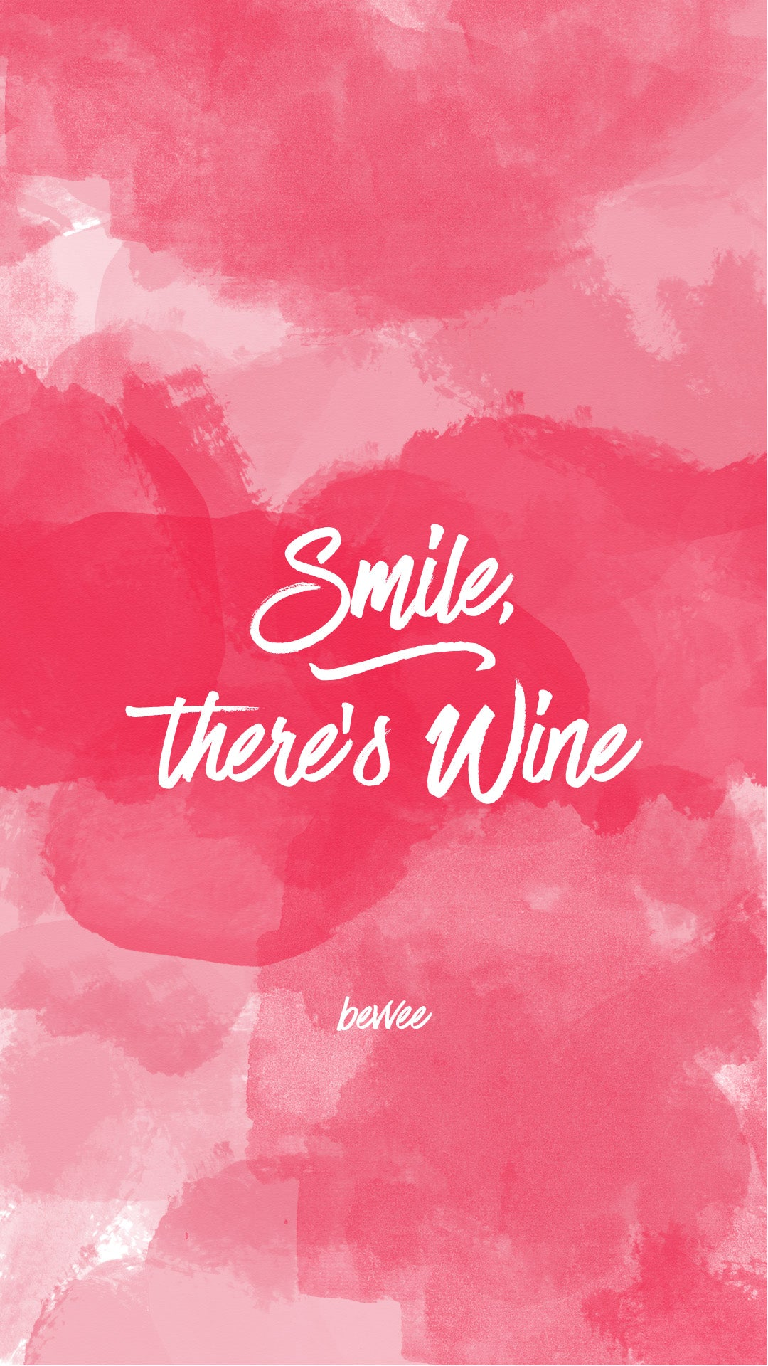 watercolor wine phone wallpaper funny quote cute