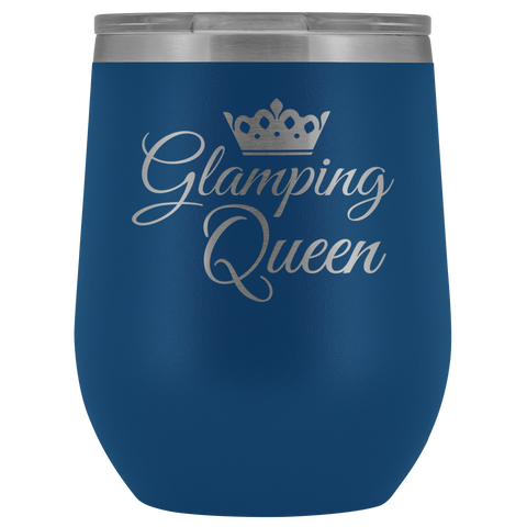 Glamping Queen - Wine Tumbler