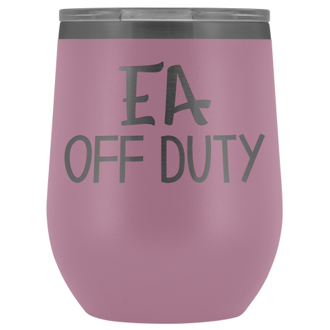 EA Off Duty - Wine Tumbler