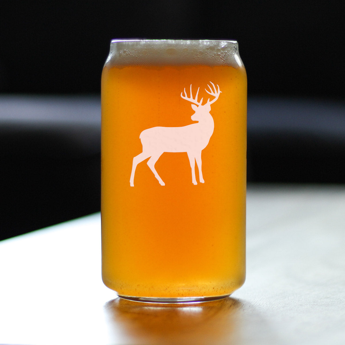 Deer - 16 Ounce Beer Can Pint Glass