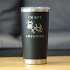 I'm Not Amooosed - 20 oz Coffee Tumbler