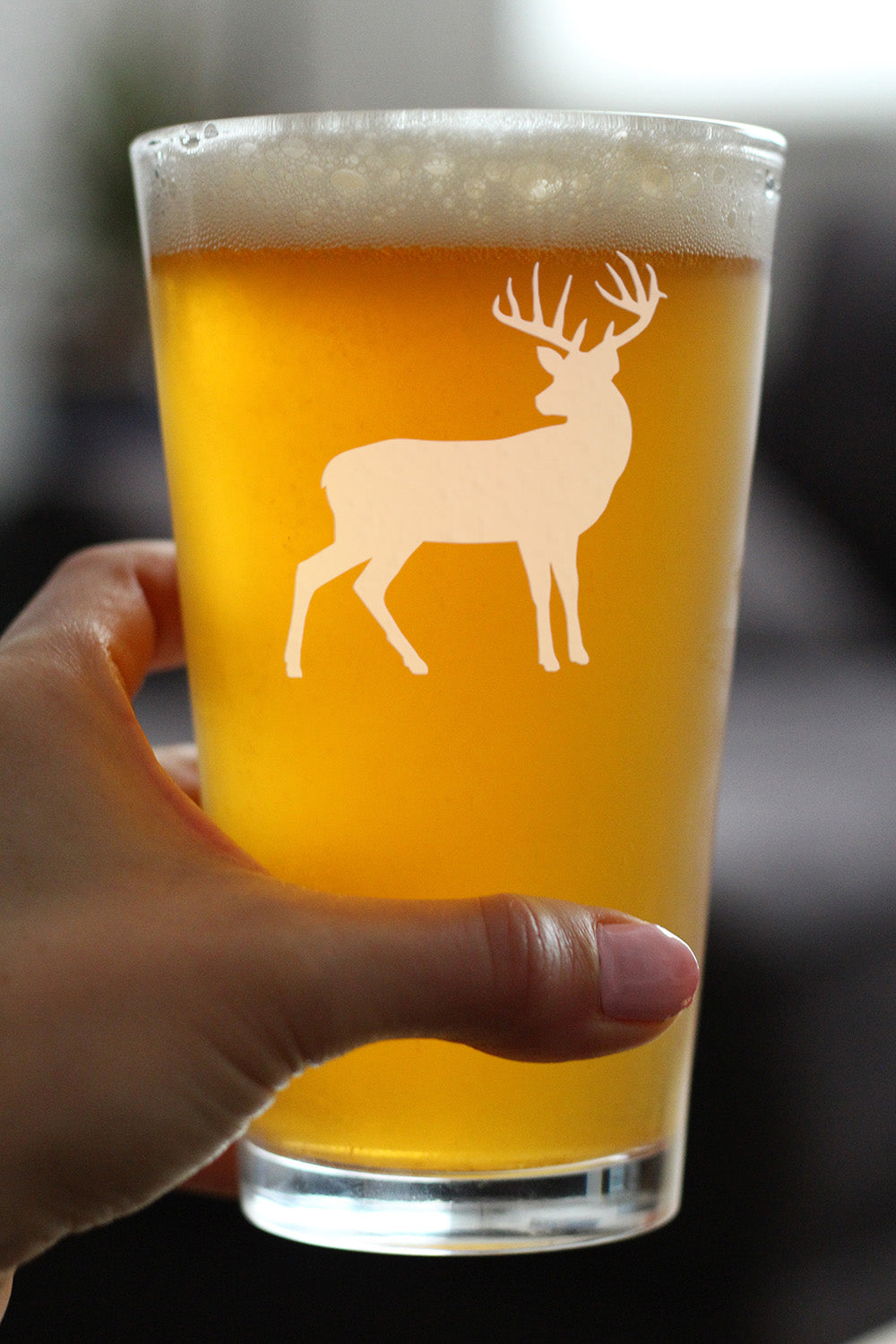 Deer - 16 Ounce Pint Glass