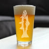 Trout - 16 Ounce Pint Glass
