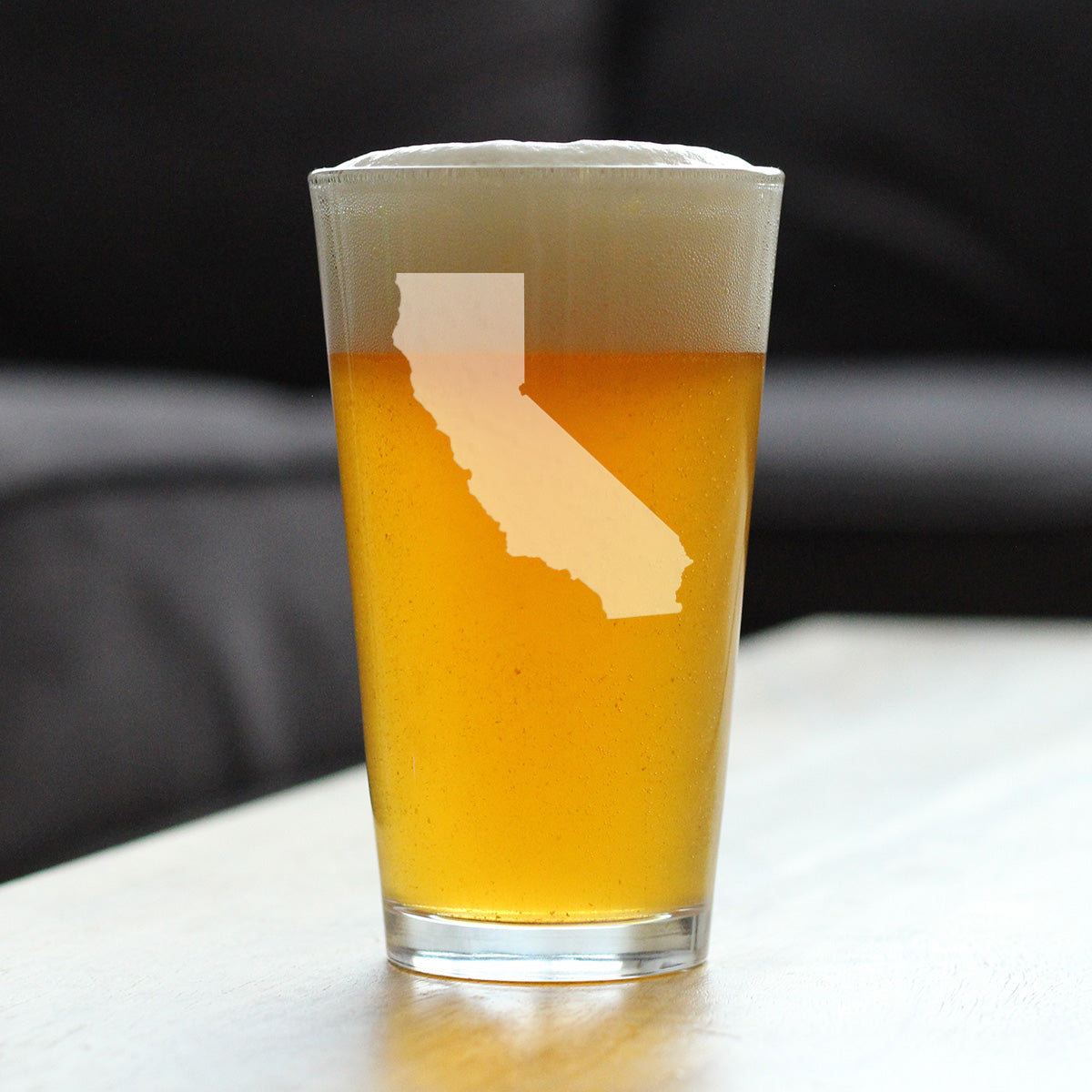 State of California - 16 Ounce Pint Glass