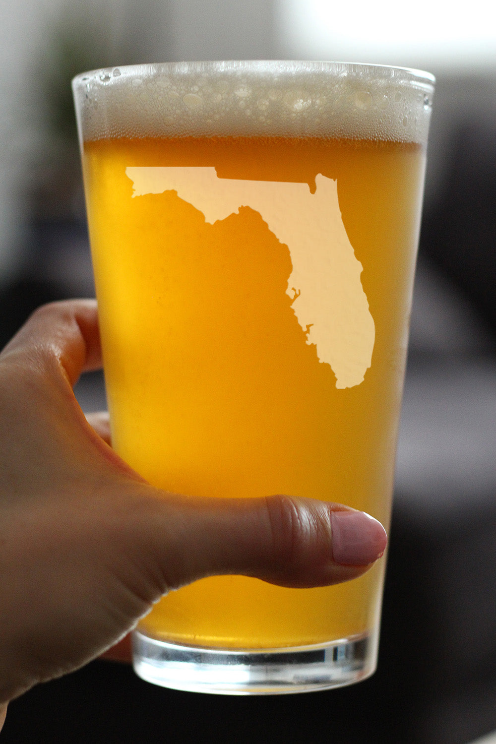 State of Florida - 16 Ounce Pint Glass