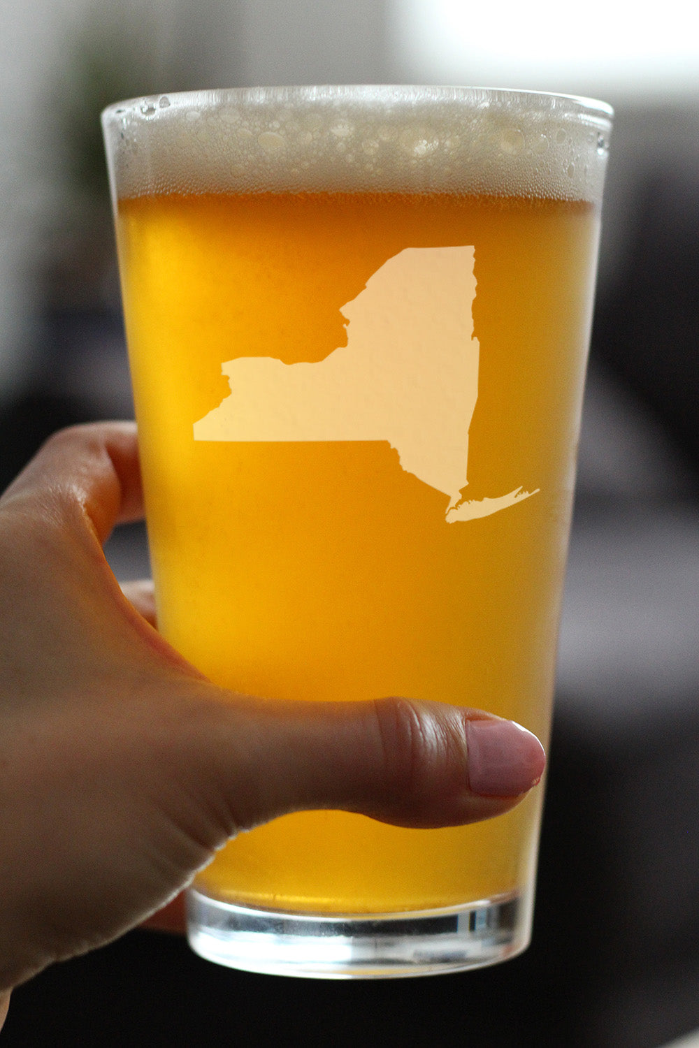 State of New York - 16 Ounce Pint Glass