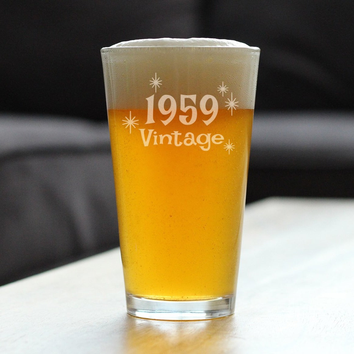Vintage 1959 - 16 Ounce Pint Glass