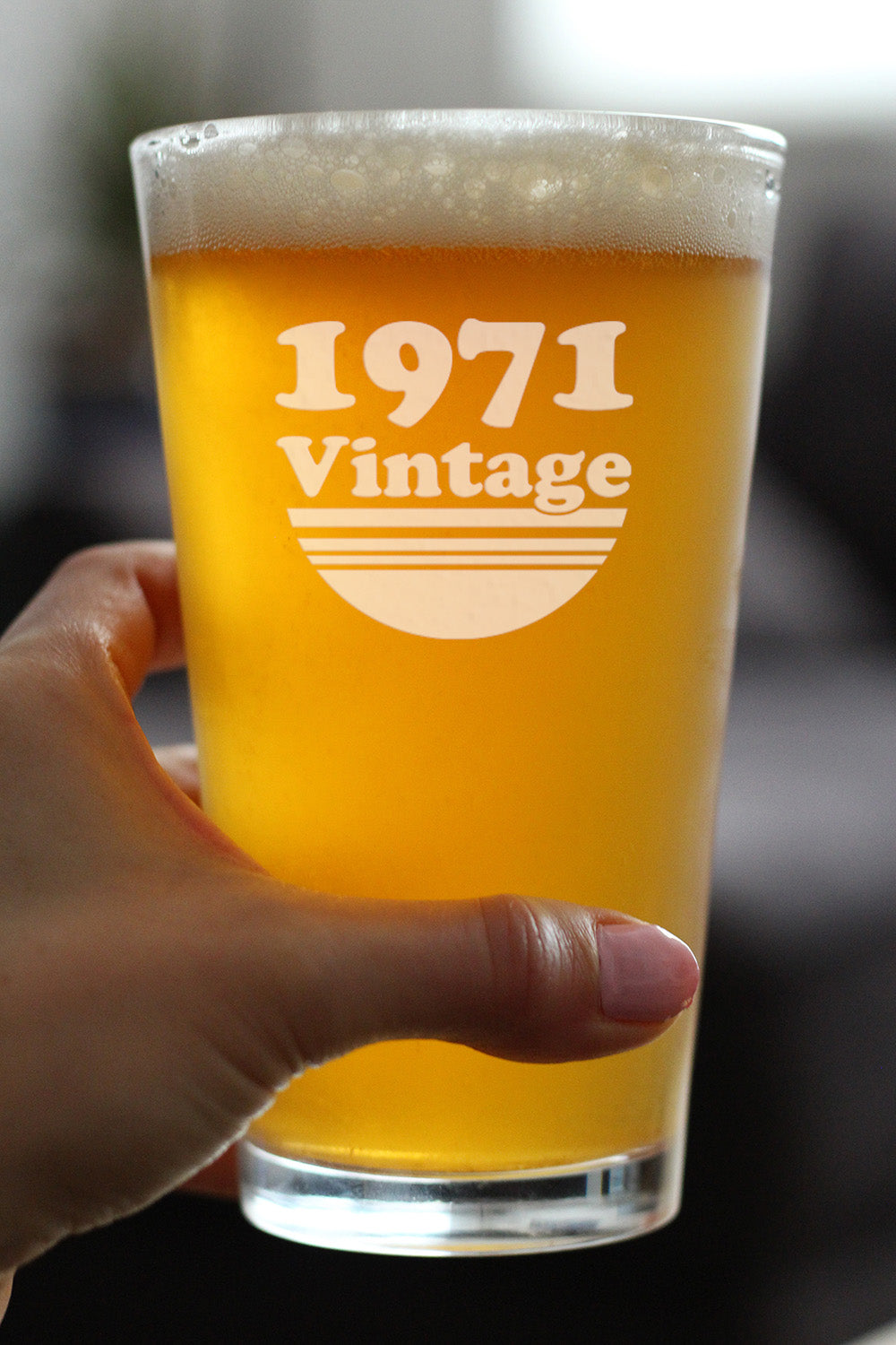Vintage 1971 - 16 Ounce Pint Glass
