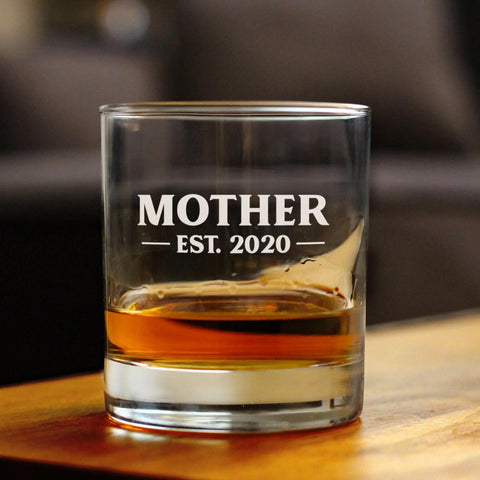 Image of Mother Est. 2020 -  Bold - 10 Ounce Rocks Glass
