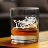 Catfish - 10 Ounce Rocks Glass