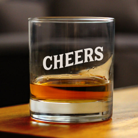 Cheers - 10 Ounce Rocks Glass