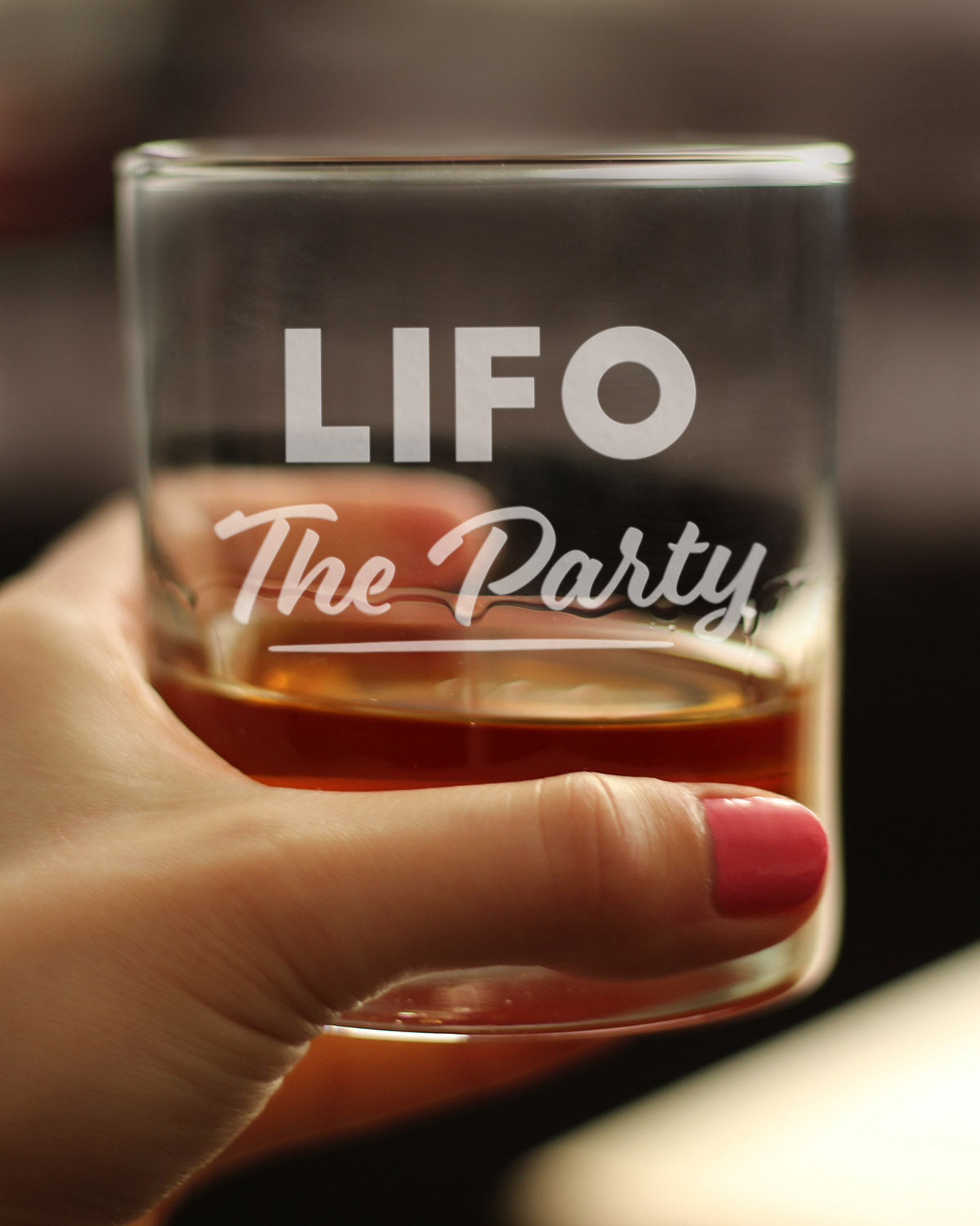 LIFO The Party - 10 Ounce Rocks Glass
