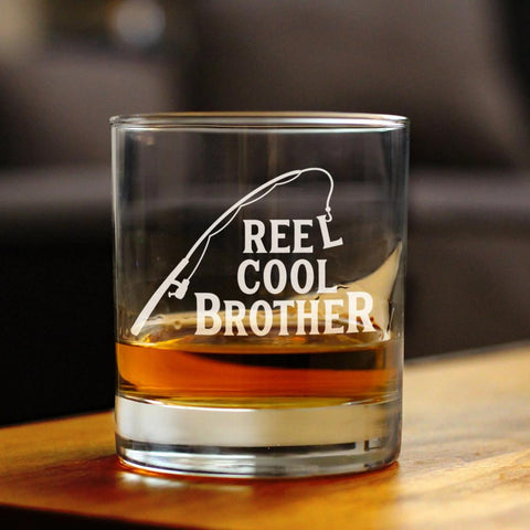 Image of Reel Cool Brother - 10 Ounce Rocks Glass