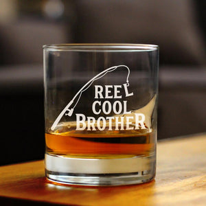 Reel Cool Brother - 10 Ounce Rocks Glass