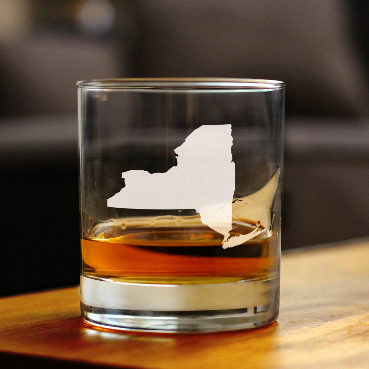 State of New York - 10 Ounce Rocks Glass