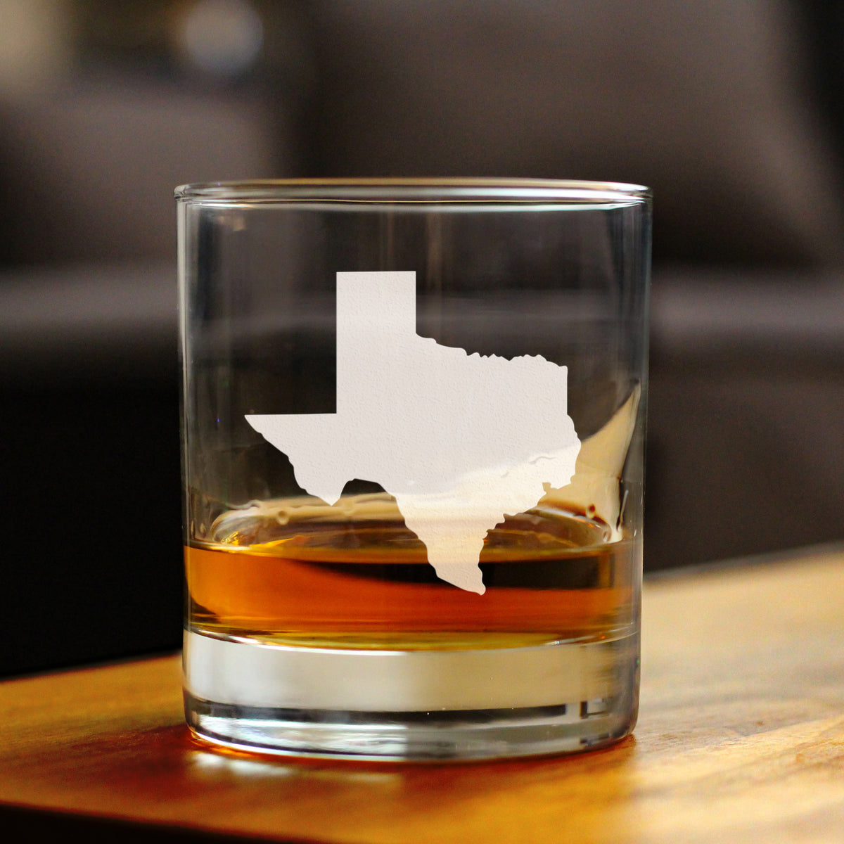 State of Texas - 10 Ounce Rocks Glass