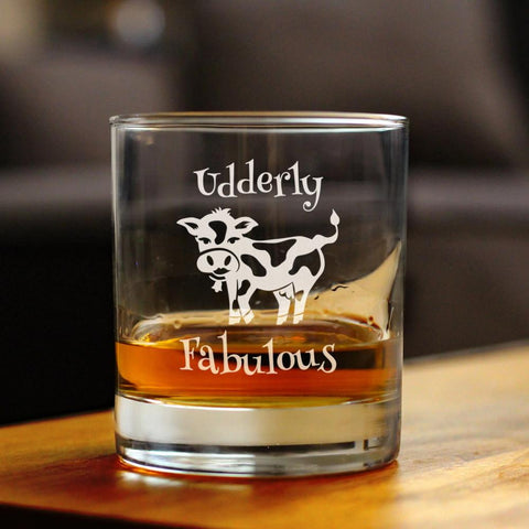 Udderly Fabulous - 10 Ounce Rocks Glass