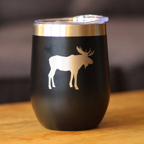 Image of Moose - Wine Tumbler