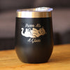 Purr Me a Glass - Wine Tumbler